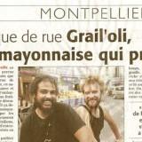 Musique de rue : GrailOli une mayonnaise qui prend.