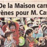 Le centre ville de Nîmes a vibré au rythme du Carnaval